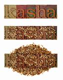 kasha - roasted buckwheat