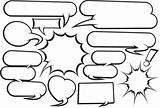 Cartoon Speech Bubble Collection 2