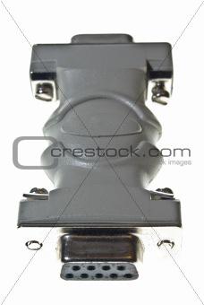 D type female adaptor