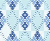 Vector rhombus seamless background