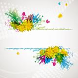 abstract flora background 2