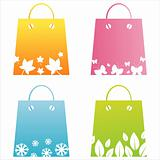 seasonal shopping bags