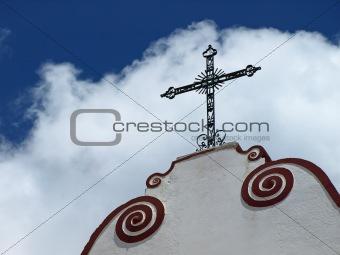 Cross in Silves Portugal