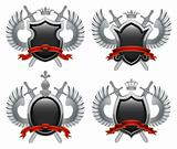 Coat of arms. Vector illustration.
