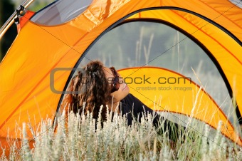 Camping In the Rocky Mountains