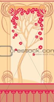 Art nouveau - tree