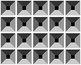 Seamless relief grey pattern.