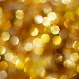 Bright golden lights background