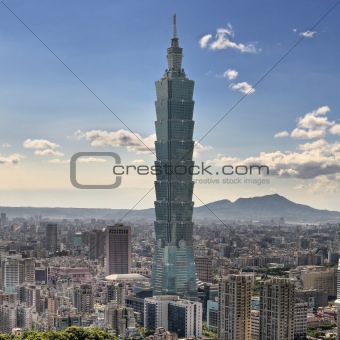 Skyscraper in Taipei