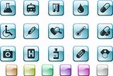 Healthcare and Pharma icons