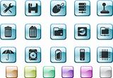 Computer and Data icons