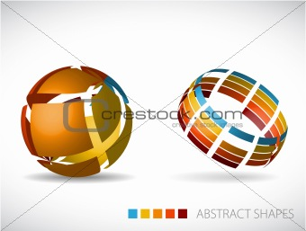 abstract spheres