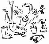Garden doodle collection