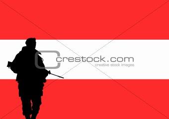 Austrian soldier