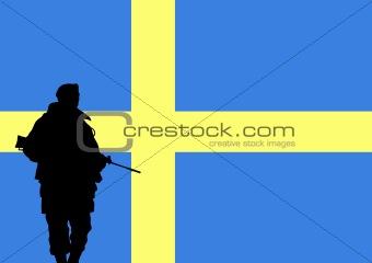 Swedish soldier