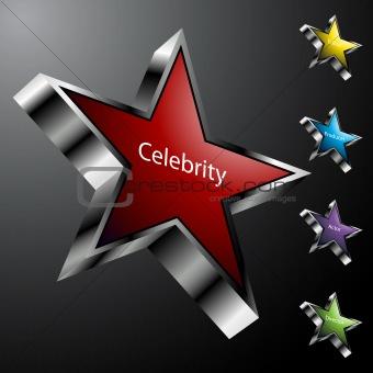 Chrome Movie Star Icons