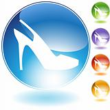 Strap Shoe Crystal Icon