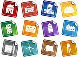 Building Structure Set - Sticker