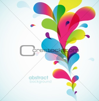 Abstract colored background.