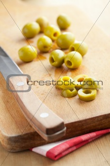 cutted olive