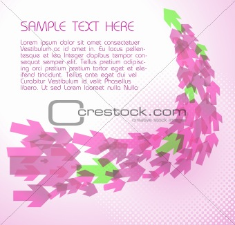 Abstract pink  technical background
