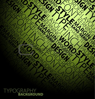 typography background