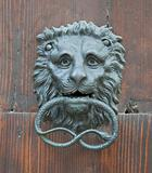 Lion Head Doorknocker.
