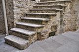 Stone Staircase.