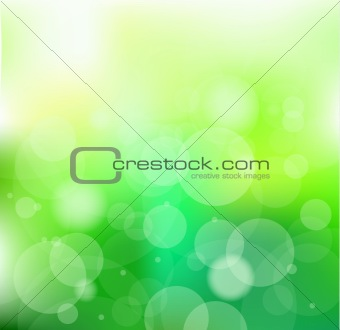 Always Go Green Slogan Background