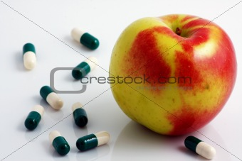 Apple or pills?