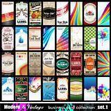 Modern & Vintage Business Card Collection - Set 1