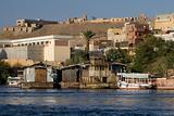 Nile River near Aswan, Egypt