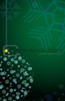Christmas ball of the Snowflakes