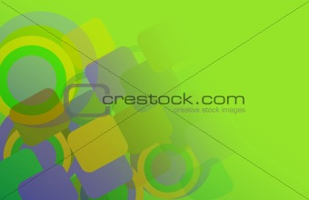 abstract background of geometric shapes.