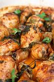 Roast chicken drumsticks