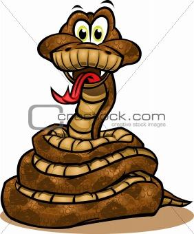 Cute Snake Mascot