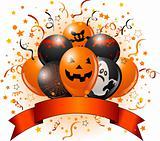 Halloween balloons design