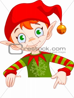 Christmas Elf Invite & Place Card