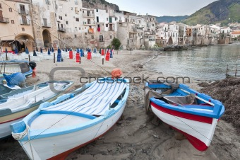 Harbour in Cefalu