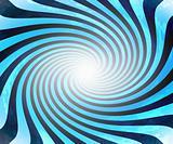 Blue twirl light