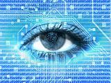 eye digital background