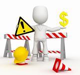 Repair of the money road)
