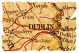 Dublin old map