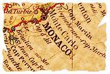 Monaco old map