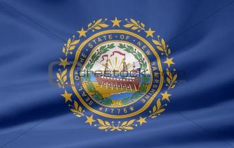Flag of New Hampshire- USA