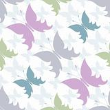 Repeating white pastel pattern