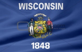 Flag of Wisconsin - USA