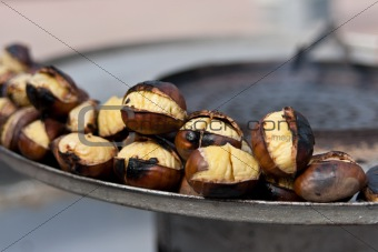 Grilled Chesnuts