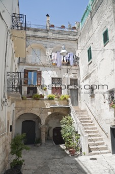 Altamura Alleyway. Apulia.