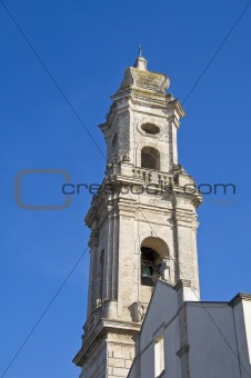 Church of Madonna di Loreto. Mola di Bari. Apulia.